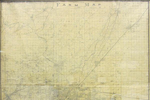 1899 W. C. Willits Farm map