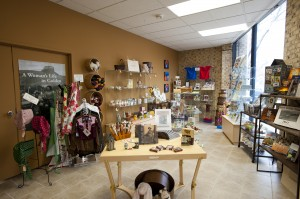 """A """"before"""" shot of the Golden History Center shop."""