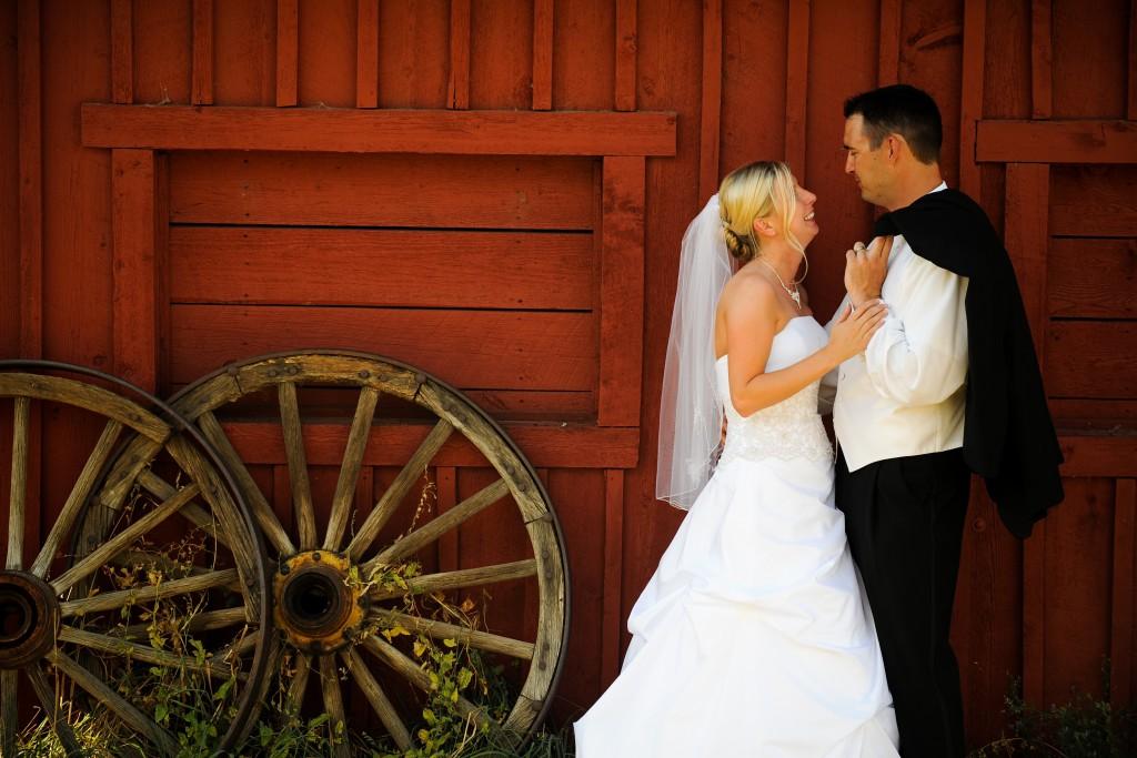 wedding at Clear Creek History Park