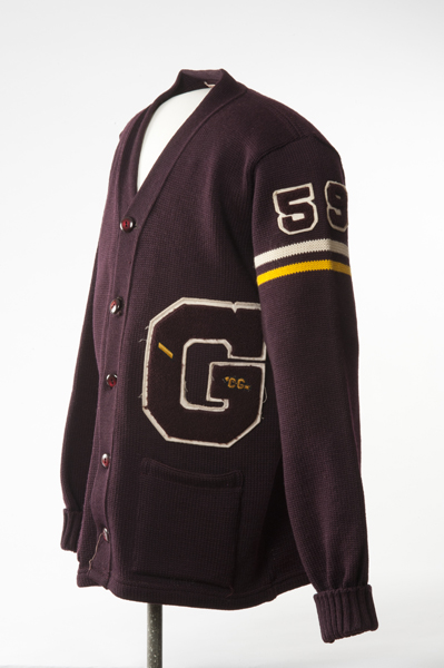 Golden High School letterman vest