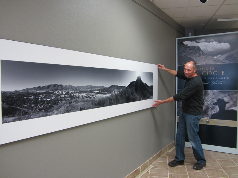 Photo exhibit at Golden History Center