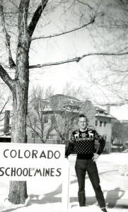 Walter Gillingham at the Colorado School of Mines