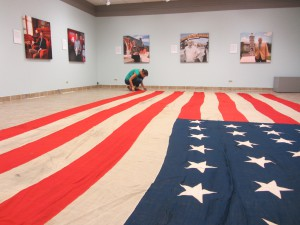 permanent collection includes 38-star Koenig American flag