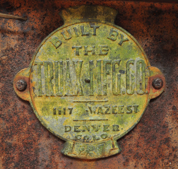 Truax Mfg Co, Denver, Colorado