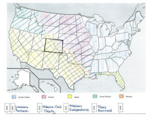 sample border map