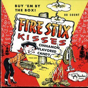 Jolly Rancher Fire Stix Kisses