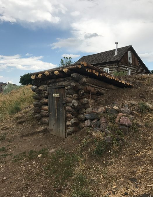 Thank you for the root cellar roof, Conrad Holmes