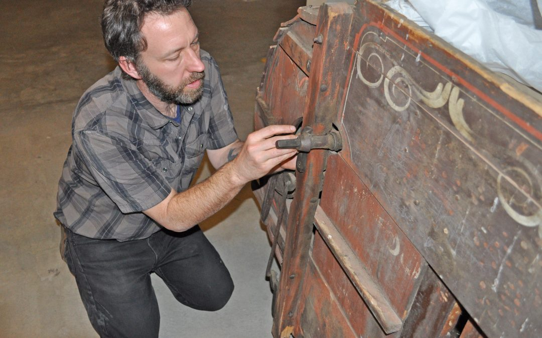 Artifacts Removed to Storage, Galleries Readied for Construction