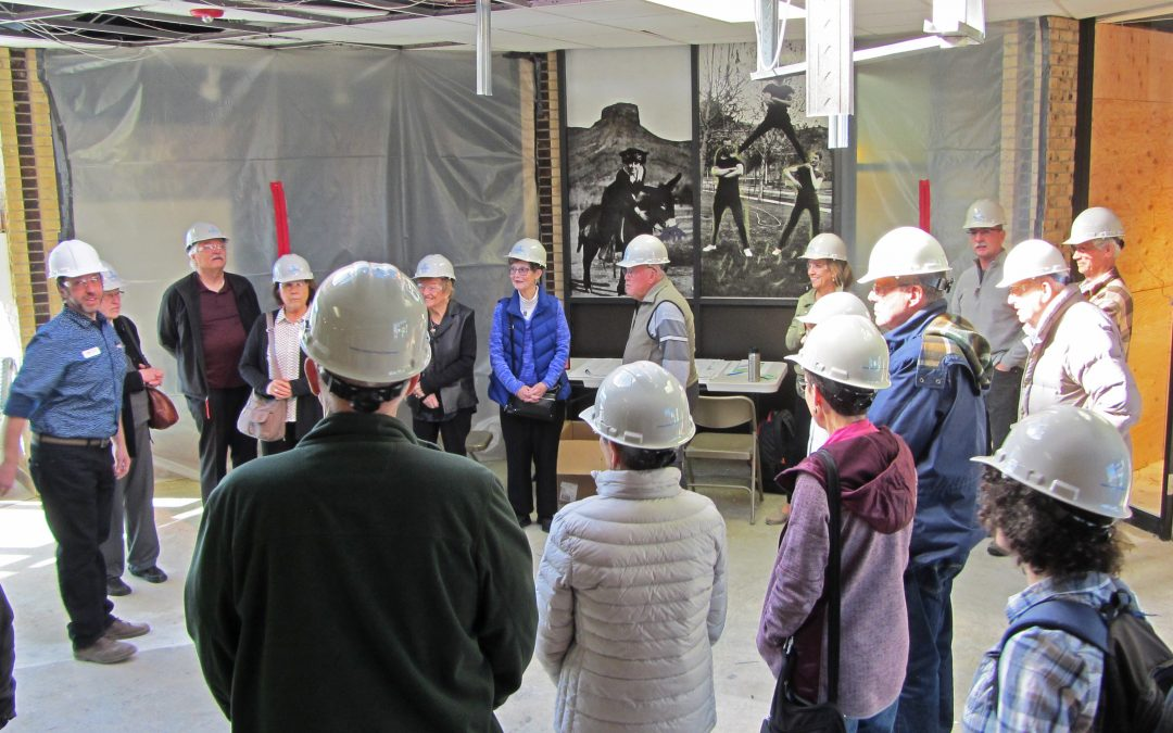 Construction Update: Hardhat Tour