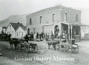 Golden, Colorado, Downtown Historical Points Walking Tour