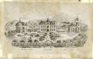 Jarvis Hall, Mathews Hall, and A School of Mines