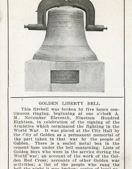 Golden loses an alarm bell and gains a liberty bell