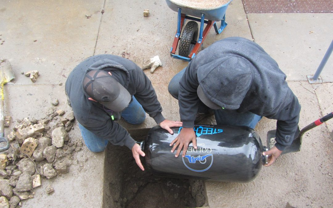 Burying the 2068 time capsule