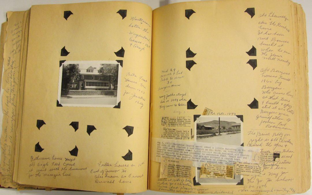 Missing Irene Goetze scrapbooks returned after 30 years