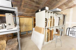 Denver West museum storager 52-2 art bins