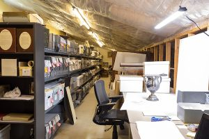 Denver West museum storage 52-1 workspace