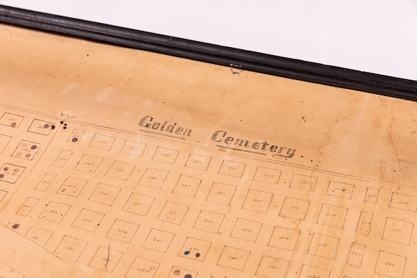 Cemetery records find new home and get conservation