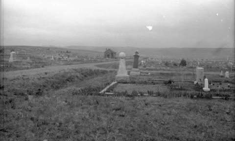 Cemetery entrance 1935